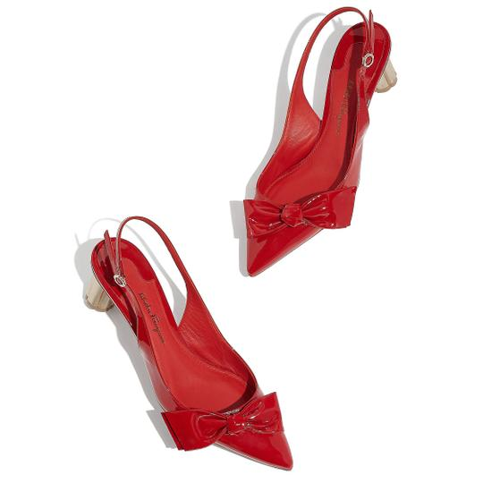 Salvatore Ferragamo Red Pumps Image 3