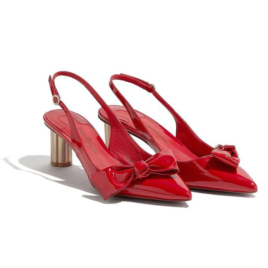 Salvatore Ferragamo Red Pumps Image 1