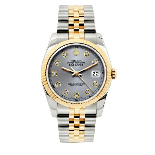 Preload https://img-static.tradesy.com/item/26304662/rolex-gray-dial-36mm-datejust-gold-ss-diamond-with-and-appraisal-watch-0-0-540-540.jpg