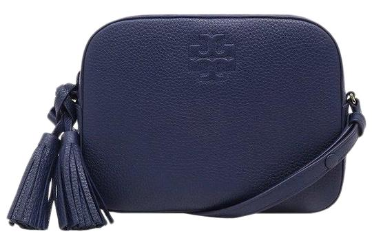 Preload https://img-static.tradesy.com/item/26304708/tory-burch-thea-with-tassel-royal-navy-leather-shoulder-bag-0-1-540-540.jpg