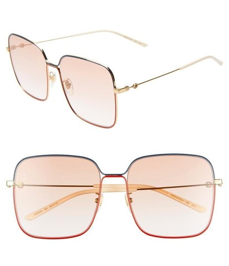 Gucci Gucci GG0443S - 005 - 60 Square 60mm Sunglasses Image 1