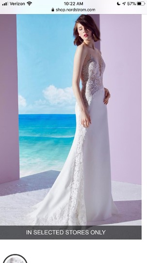 Preload https://item5.tradesy.com/images/ines-di-santo-ivory-lace-mischa-sexy-wedding-dress-size-4-s-26304814-0-0.jpg?width=440&height=440