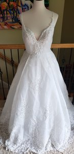 Ivory 18236 Rachel Formal Wedding Dress Size 12 (L)