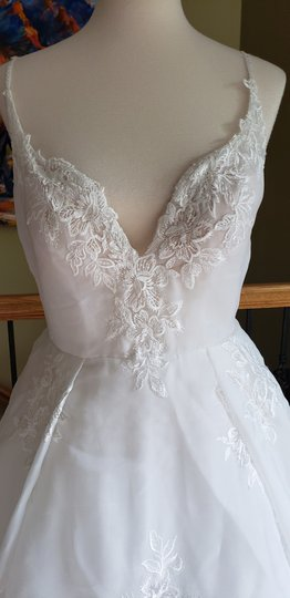 Ivory 18236 Rachel Formal Wedding Dress Size 12 (L) Image 1