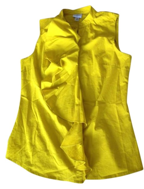 Preload https://item5.tradesy.com/images/worthington-mustard-yellow-tank-topcami-size-6-s-263049-0-0.jpg?width=400&height=650