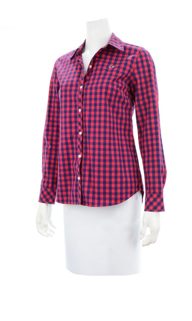 Vineyard Vines Button Down Shirt red Image 1