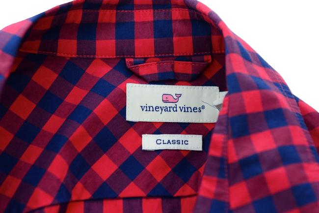 Vineyard Vines Button Down Shirt red Image 2