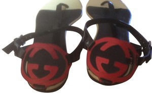 Gucci **Reduced 12/3** Black Sandals