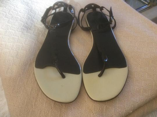 Gucci **Reduced 12/3** Black Sandals Image 2