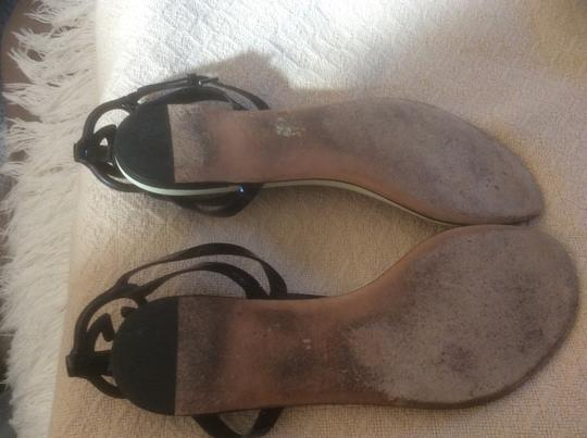 Gucci **Reduced 12/3** Black Sandals Image 4