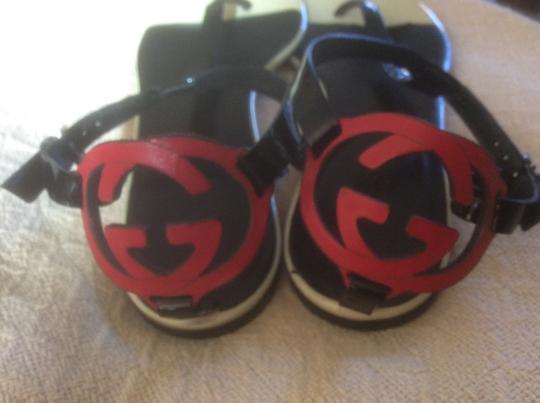 Gucci **Reduced 12/3** Black Sandals Image 5