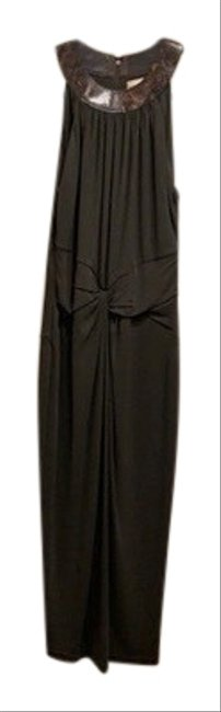 Item - Brown Mid-length Night Out Dress Size 6 (S)