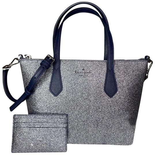 Preload https://img-static.tradesy.com/item/26304931/kate-spade-joeley-small-glitter-satchel-set-dusknavy-cross-body-bag-0-1-540-540.jpg