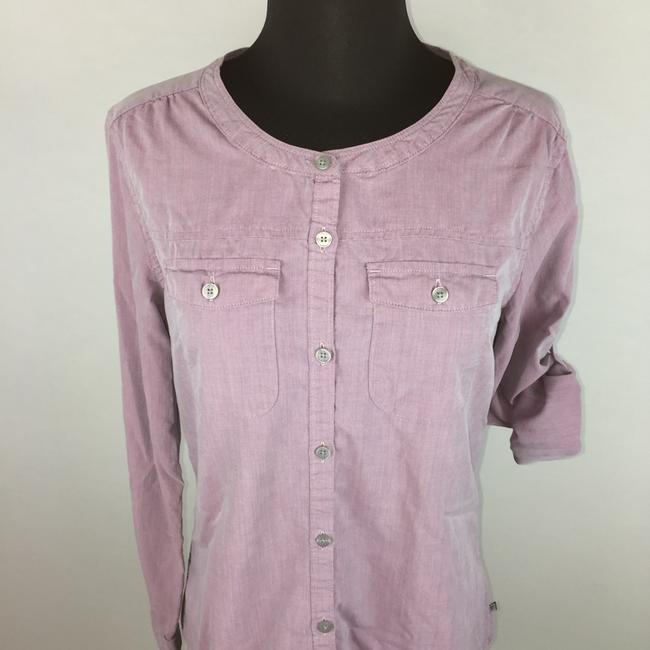 Toad&Co Toad & Co Beryl Shirt Longsleeve Shirt Casual Button Down Shirt Purple Image 1