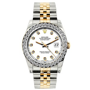 ROLEX 26mm Ladies Datejust Gold Stainless Steel with Appraisal