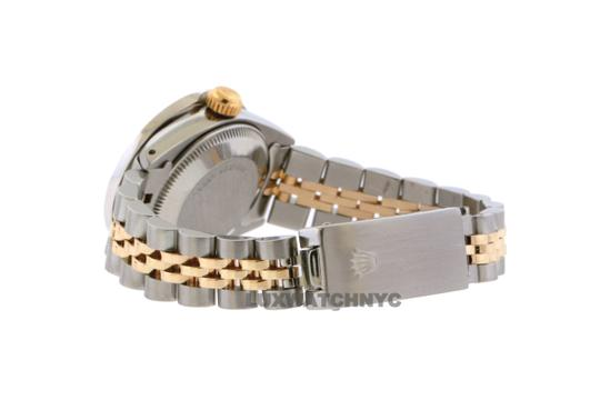 ROLEX 26mm Ladies Datejust Gold Stainless Steel with Appraisal Image 4