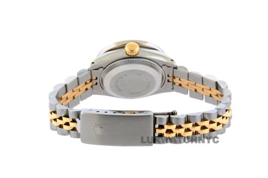 ROLEX 26mm Ladies Datejust Gold Stainless Steel with Appraisal Image 5