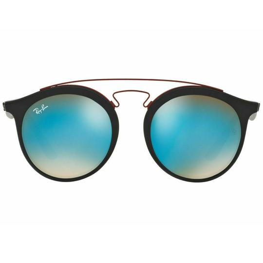 Ray-Ban Mirrored-Gradient Lens RB4256 6252B7 49mm Unisex Round Sunglasses Image 1