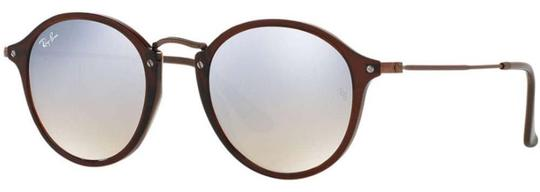 Preload https://img-static.tradesy.com/item/26305069/ray-ban-shiny-transparent-brown-frame-and-silver-gradient-lens-rb2447n-62569u-unisex-round-sunglasse-0-1-540-540.jpg