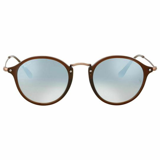 Ray-Ban Frame & Silver Gradient Lens RB2447N 62569U Unisex Round Sunglasses Image 1