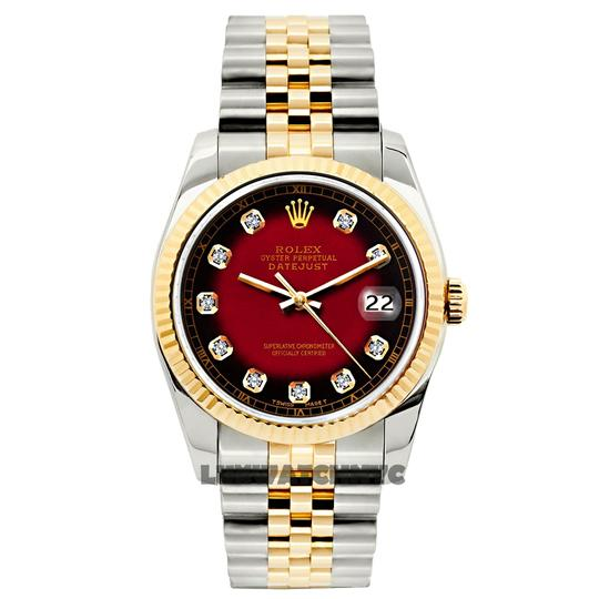 ROLEX 26MM Ladies Datejust Gold S/S with Appraisal Image 8
