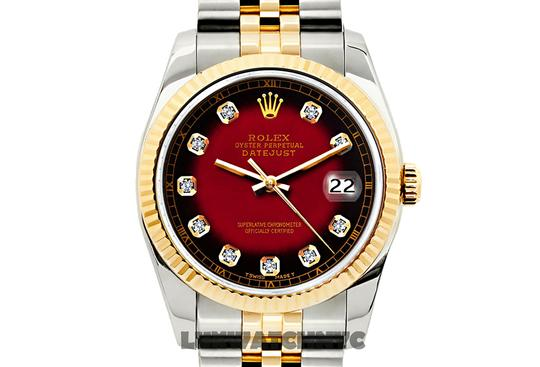 ROLEX 26MM Ladies Datejust Gold S/S with Appraisal Image 9