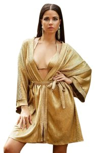 Cioccolato Couture Cioccolato Couture Monica Gold Cover-up