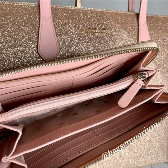 Kate Spade Tote in Rose Gold Image 3