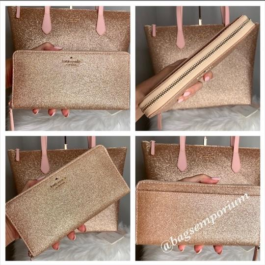 Kate Spade Tote in Rose Gold Image 5