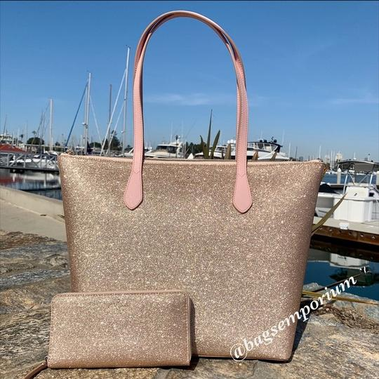 Kate Spade Tote in Rose Gold Image 7