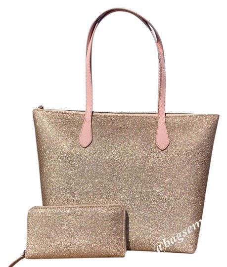 Kate Spade Tote in Rose Gold Image 0