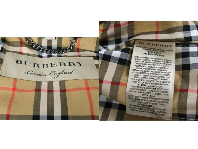 Burberry Women's Patent Canvas Trench Coat Image 10