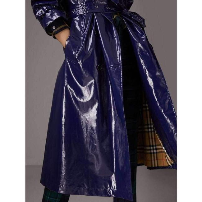 Burberry Women's Patent Canvas Trench Coat Image 2