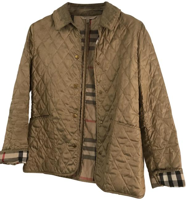 Item - Gold/Bronze Quilted Jacket Size 2 (XS)