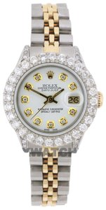 ROLEX 2.8ct Ladies 26mm Datejust Gold & Stainless Appraisal