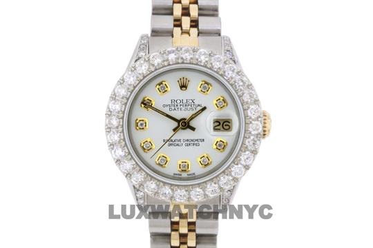 ROLEX 2.8ct Ladies 26mm Datejust Gold & Stainless Appraisal Image 9