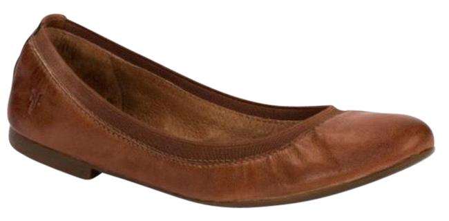 Item - Cognac New Womens Carson Gore Ballet Flats Size US 8.5 Regular (M, B)