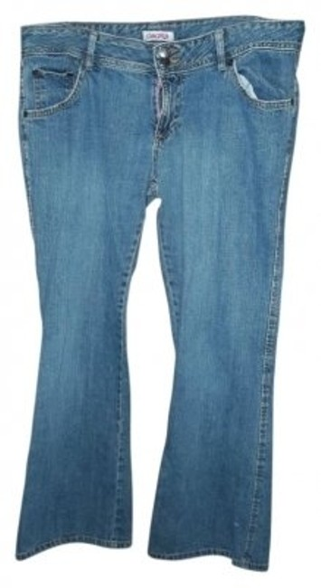 Preload https://item2.tradesy.com/images/blue-light-wash-straight-leg-jeans-size-35-14-l-26306-0-0.jpg?width=400&height=650