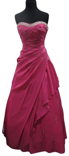 Item - Hot Pink 3959/ Mystique Long Formal Dress Size 10 (M)