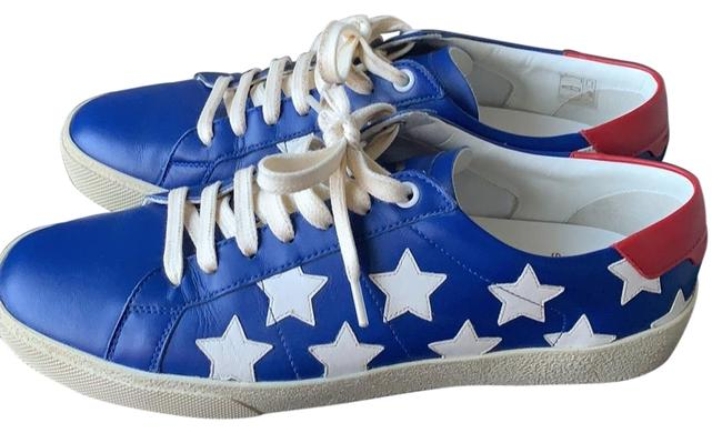 Item - Blue White Red Court Classic Stars Sneakers Size US 10 Regular (M, B)