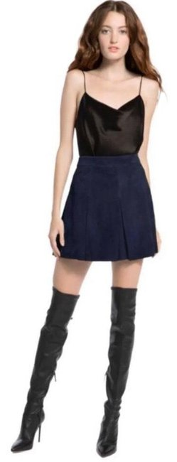 Item - Navy Blue Skirt Size 8 (M, 29, 30)