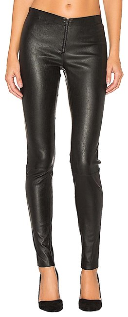 Item - Black with Tag Leather Jeggings Size 32 (8, M)