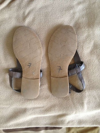 American Eagle Outfitters Dark Brown Sandals