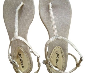 Other Light brown and shiny Gold Sandals