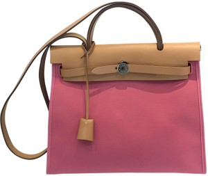 Hermès Tote in Rose Lipstick
