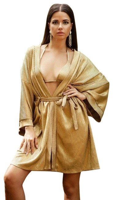 Item - Gold Monica Cover-up/Sarong Size 4 (S)