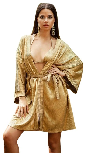 Item - Gold Monica Cover-up/Sarong Size 12 (L)