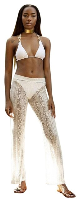 Item - White Hudson Sexy Pants Cover-up/Sarong Size 8 (M)