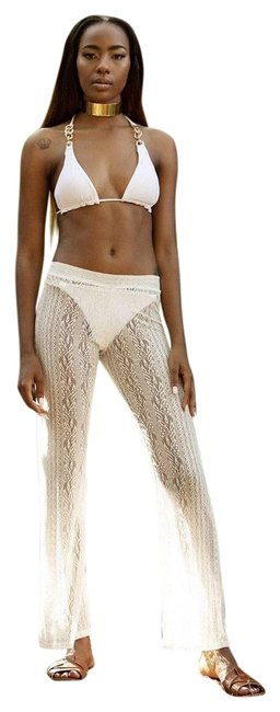 Item - White Hudson Sexy Pants Cover-up/Sarong Size 12 (L)
