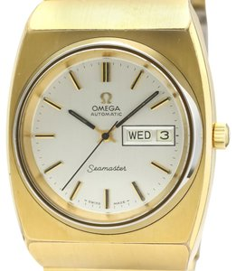 Omega Omega Seamaster Automatic Gold Plated Men's Dress Watch 166.239